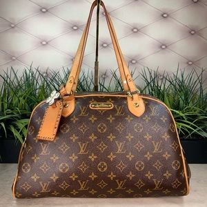 Authenticated Louis Vuitton Montorgrueil GM Monty